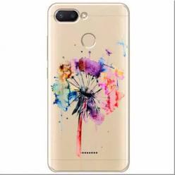 Etui na Xiaomi Redmi 6 -  Watercolor dmuchawiec.