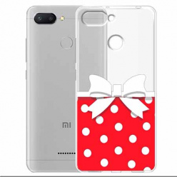 Etui na Xiaomi Redmi 6 - Gustowna kokardka.