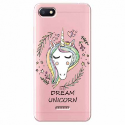 Etui na Xiaomi Redmi 6A - Dream unicorn - Jednorożec.