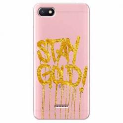 Etui na Xiaomi Redmi 6A - Stay Gold.