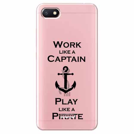 Etui na Xiaomi Redmi 6A - Work like a Captain…