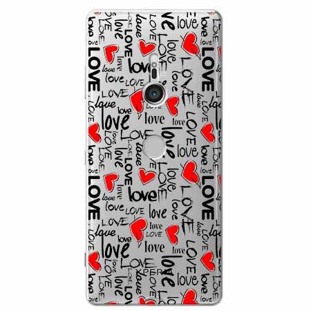 Etui na Sony Xperia XZ3 - Love, love, love…