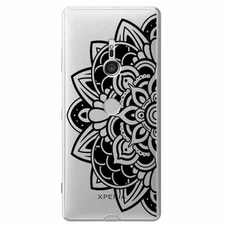 Etui na Sony Xperia XZ3 - Kwiatowa mandala.