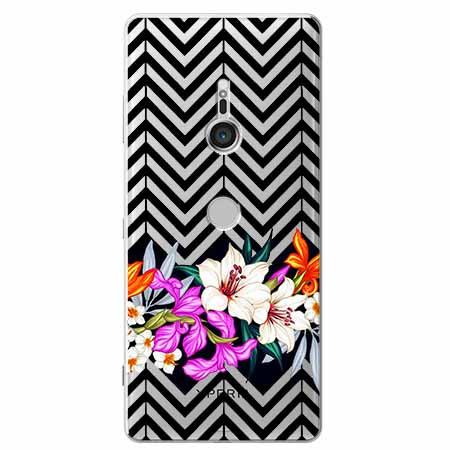 Etui na Sony Xperia XZ3 - Kwiatowy bukiet dla Ciebie.
