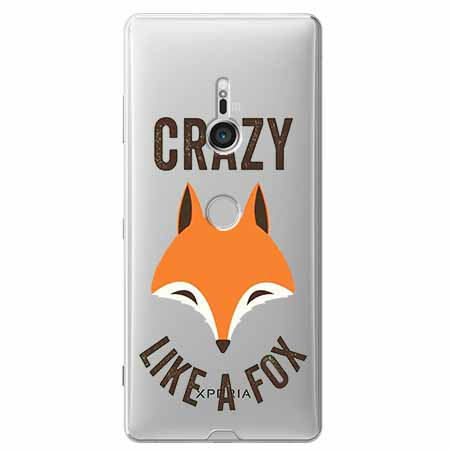 Etui na Sony Xperia XZ3 - Crazy like a fox.