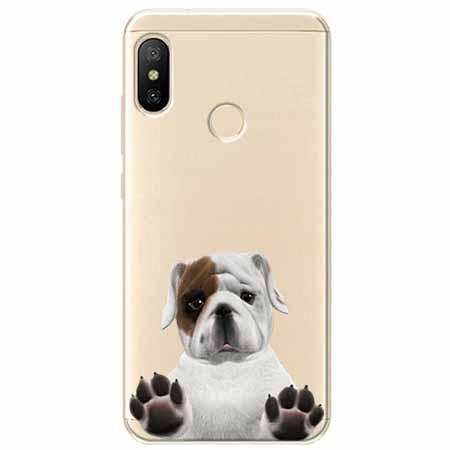Etui na Xiaomi Mi A2 Lite - Słodki szczeniaczek.