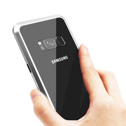 Etui Magnetyczne metalowe Magneto Samsung Galaxy S8 - Srebrny