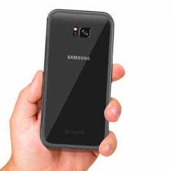 Etui Magnetyczne metalowe Magneto Samsung Galaxy S7 Edge - Czarny