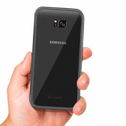 Etui metalowe Magneto Samsung Galaxy S7 Edge - Czarny