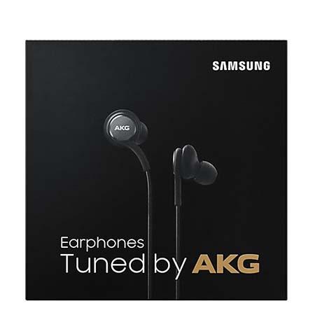 Słuchawki douszne z mikrofonem Samsung AKG - Czarne.