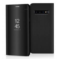 Etui na Samsung Galaxy S10 - Flip Clear View z klapką - Czarny.