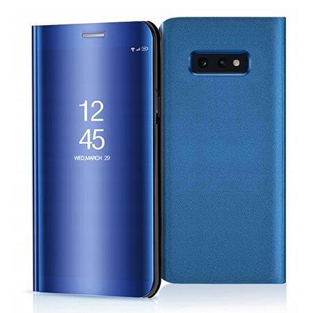 Etui na Samsung Galaxy S10e - Flip Clear View z klapką - Niebieski.