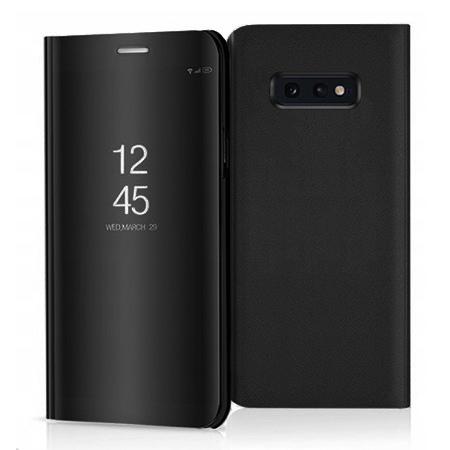 Etui na Samsung Galaxy S10e - Flip Clear View z klapką - Czarny.