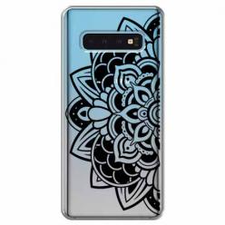 Etui na Samsung Galaxy S10 - Kwiatowa mandala.