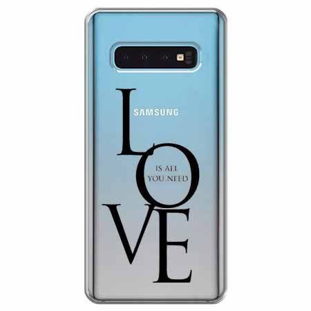 Etui na Samsung Galaxy S10 - All you need is LOVE.