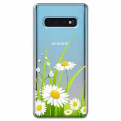 Etui na Samsung Galaxy S10 Plus - Polne stokrotki.