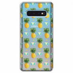 Etui na Samsung Galaxy S10 Plus - Ananasowe szaleństwo.