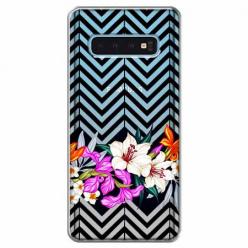 Etui na Samsung Galaxy S10 Plus - Kwiatowy bukiet dla Ciebie.