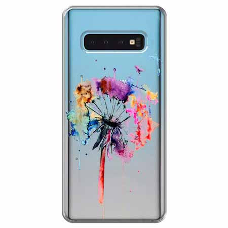Etui na Samsung Galaxy S10 Plus - Watercolor dmuchawiec.