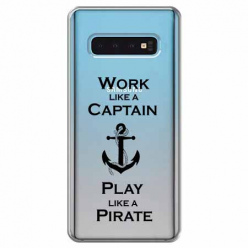 Etui na Samsung Galaxy S10 Plus - Work like a Captain…