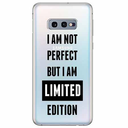 Etui na Samsung Galaxy S10e - I Am not perfect…