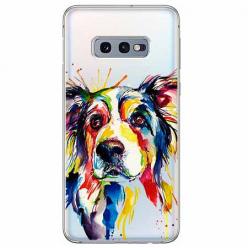 Etui na Samsung Galaxy S10e - Watercolor pies.
