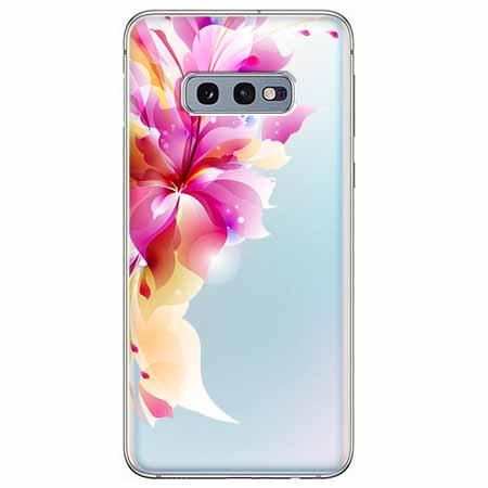 Etui na Samsung Galaxy S10e - Bajeczny kwiat.