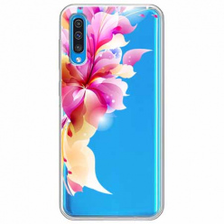 Etui na Samsung Galaxy A50 - Bajeczny kwiat.