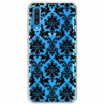 Etui na Samsung Galaxy A50 - Damaszkowa elegancja.