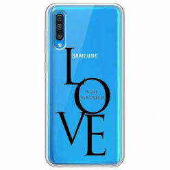 Etui na Samsung Galaxy A50 - All you need is LOVE.