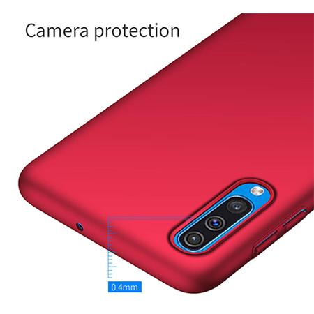 Etui na telefon Samsung Galaxy A50 - Slim MattE - Czerwony.