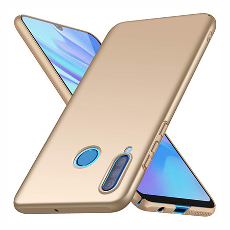 Etui na telefon Huawei P30 Lite - Slim MattE - Złoty.