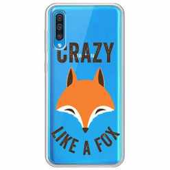 Etui na Samsung Galaxy A70 - Crazy like a fox.