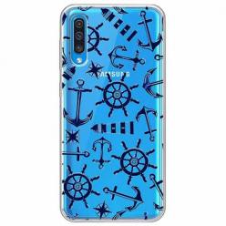 Etui na Samsung Galaxy A70 - Ahoj wilki morskie.