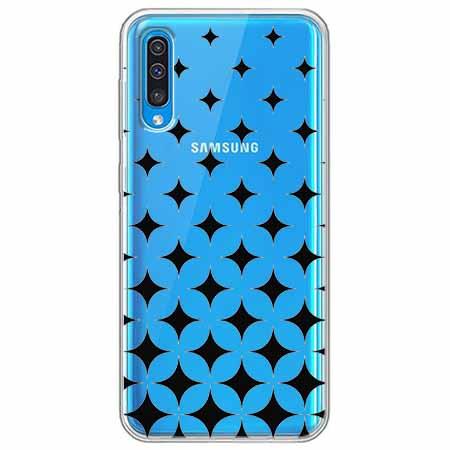 Etui na Samsung Galaxy A70 - Diamentowy gradient.