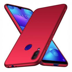 Etui na Xiaomi Redmi Note 7 - Slim MattE - Czerwony.