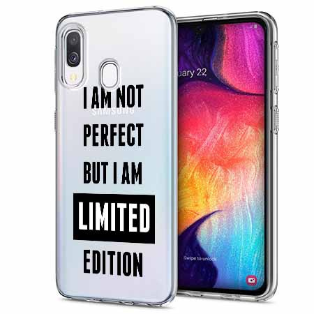 Etui na Samsung Galaxy A40 - I Am not perfect…