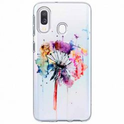 Etui na Samsung Galaxy A40 - Watercolor dmuchawiec.