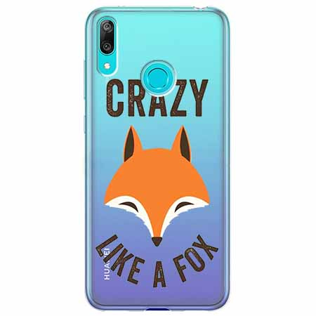 Etui na Huawei Y6 2019 - Crazy like a fox.