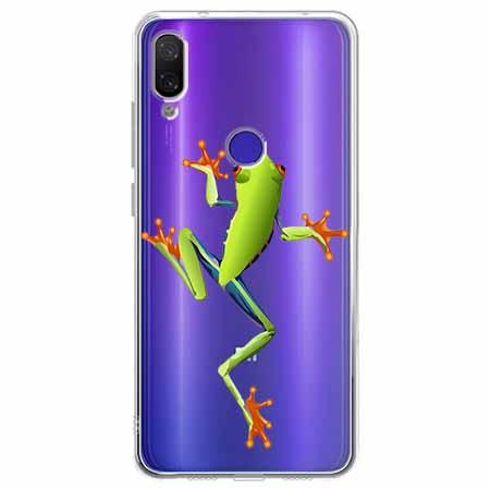 Etui na Xiaomi Redmi Note 7 - Zielona żabka.