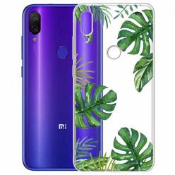 Etui na Xiaomi Redmi Note 7 - Zielone liście palmowca