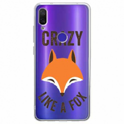 Etui na Xiaomi Redmi Note 7 - Crazy like a fox.