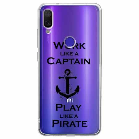 Etui na Xiaomi Redmi Note 7 - Work like a Captain…