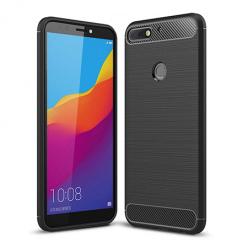 Etui na Huawei Y7 Prime 2018 - bumper Neo CARBON - Czarny.