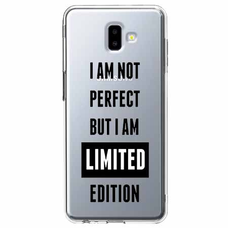 Etui na Galaxy J6 Plus - I Am not perfect…