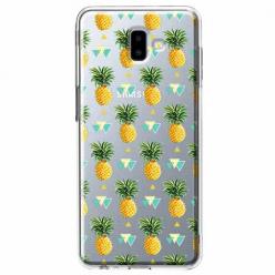 Etui na Galaxy J6 Plus - Ananasowe szaleństwo.