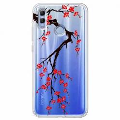 Etui na Huawei Honor 10 Lite - Krzew kwitnącej wiśni.
