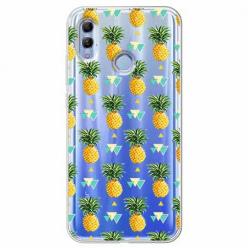 Etui na Huawei Honor 10 Lite - Ananasowe szaleństwo.