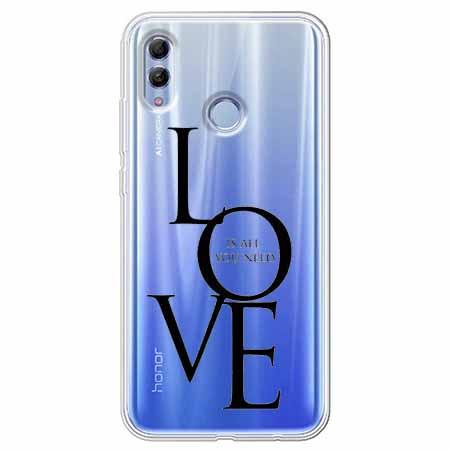 Etui na Huawei Honor 10 Lite - All you need is LOVE.