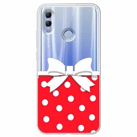 Etui na Huawei Honor 10 Lite - Gustowna kokardka.